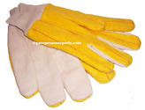 HEAVYWEIGHT CHORE GLOVES USE WHEN WORKING ON YOUR GARAGE DOORS