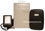 5102-1 Digi Code Universal Garage Door Opener Radio Control Kit with 1 Remote